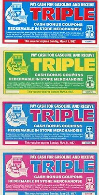 Canadian Tire Money - 4 Multiplier from 1987 (lot A)