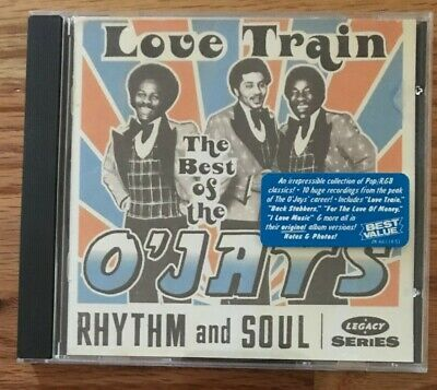 THE O'JAYS Love Train The Best of Greatest Hits  Motown CD LIKE NEW