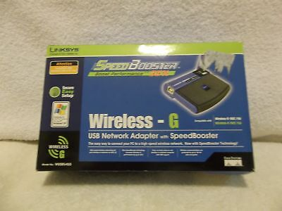 LINKSYS WUSB54GS V1.0 DRIVER FOR PC