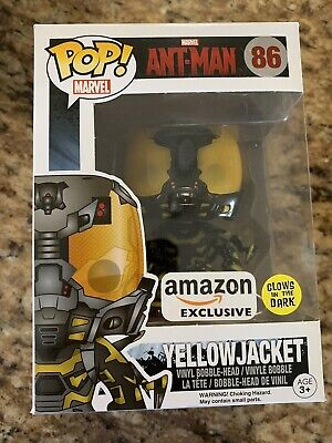 new style ee49a 960b4 FUNKO POP YELLOW Jacket Amazon Excl. w Protective Case - Glow in the ...