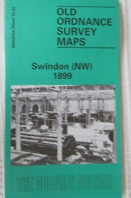 Old Ordnance Survey Map Swindon (NW) 1899