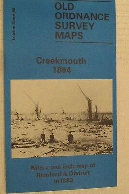 Old Ordnance Survey Map Creekmouth 1894