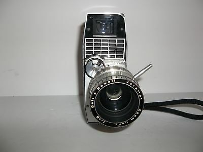 Bell & Howell Directors Series Zoomatic 8mm Movie Camera -- Vintage Pre-Owned