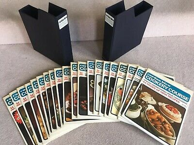 Vintage 1978 Complete Cordon Bleu Monthly Cookery Course In 18 Issues + Extras