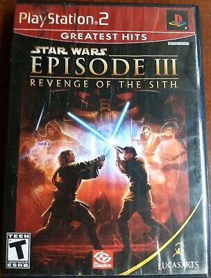 Star Wars: Episode III: Revenge of the Sith PS2 (Sony PlayStation 2, 2005) CIB