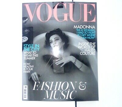 Madonna Cover Vogue Magazine British Vogue Edition June 2019 UK COLLECTORS ITEM