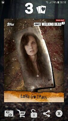 Topps The Walking Dead Card Trader - Lori Grimes Chop 2016 DIGITAL