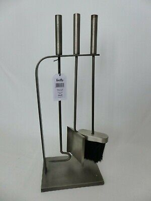 Ivyline PHRFS 50 cm Pewter Fire Set - Silver (3-Piece) - with defect