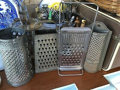 VINTAGE Kitchen GRATERs X 4 ...Acme,tala,Mars