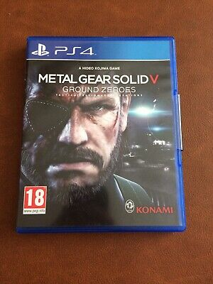 Metal Gear Solid V: Ground Zeroes (Sony PlayStation 4, PS4 New Sealed Unopened