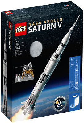 LEGO 21309 IDEAS® - NASA Apollo 11 Saturn-V NUOVO E SIGILLATO