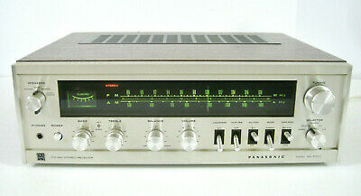 Panasonic SA-5500 Vintage Stereo Receiver/Amp w/ Antenna (WORKS GREAT/SERVICED)