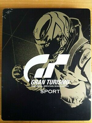 Gran Turismo Sport: Limited Edition (Sony PlayStation 4, 2016) Steel Book Racing