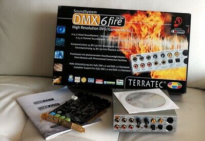 TERRATEC DMX 6FIRE 24 96 DRIVER FOR WINDOWS 8