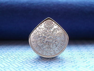 Genuine Sixpence Coin Pick / Electric / Acoustic Guitar.*BRIAN MAY.*QUEEN*F Post
