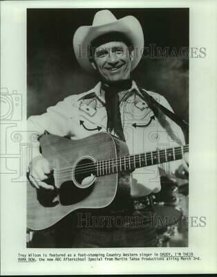 """1982 Press Photo Trey Wilson in """"Daddy, I'm Their Mama Now"""" on ABC Television"""