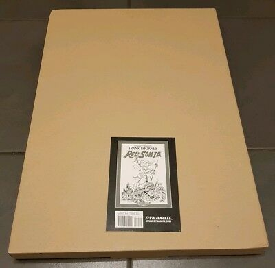 Frank Thorne's Red Sonja Art Edition volume 1 (artist's edition) OOP Dynamite