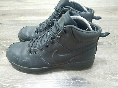 Nike ACG Men's Size 12 Manoa Leather Work BOOTS Shoes Black