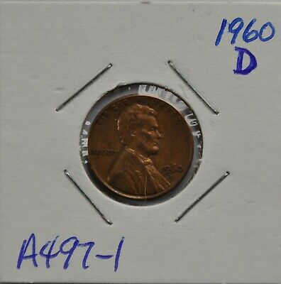 1960-D, 1961-D, 1962-D United States Lincoln Memorial 1 Cent (LOT OF 3) Lot A497
