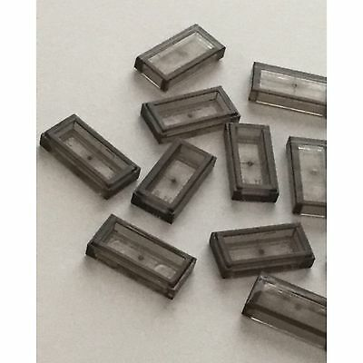 New LEGO Lot of 4 Black 1x6 Flat Tile Pieces from 79111 79109 9467 4193 4866