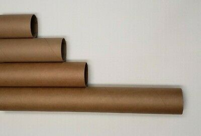 Heavy-duty Round Mailing Tubes - 2X Stronger Many Sizes, white end caps Included