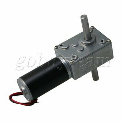 DC 12V Worm Gear Motor Speed Reducing Electric Gearbox Motor 12RPM
