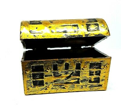Coles Little Shop Mini Collectables - Mini Treasure Chest 1:12th Miniature