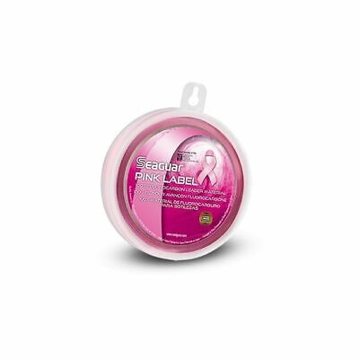 Seaguar Pink Label 25yd Fluorocarbon Leader Spools Disappearing [15-200lb]