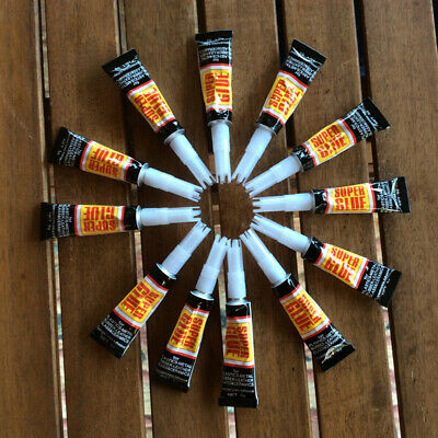 12Pcs Super Multifunctional Strong Adhesive Home Office Instant Glue Alluring