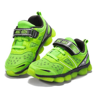ABC KID Child Casual Shoes Net Breathable Boy Girl Soft Sole Sports Sneakers