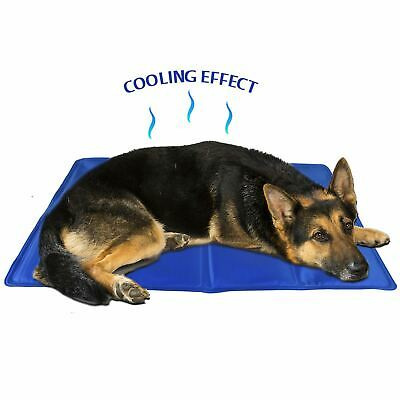 40x30cm Cool Gel Pet Mat Dog Cat Bed Non Toxic Summer Cushion Pad Heat Relief