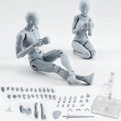 Drawing Figures Fits for Artists Action Figure Model Human Mannequin Man Woman