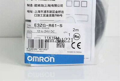 1PC NEW Omron Photoelectric switch E3ZG-R61-S