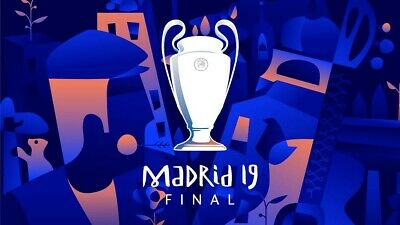 4 flights to Madrid from London, Ryanair, booked for Champions League final