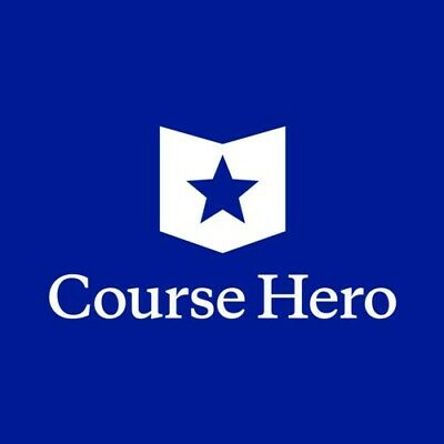 Course Hero - Up to 3 Unlocked Document WITHIN HOUR!