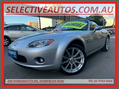 2005 Mazda MX-5 NC (Leather) Silver Manual 6sp M Convertible