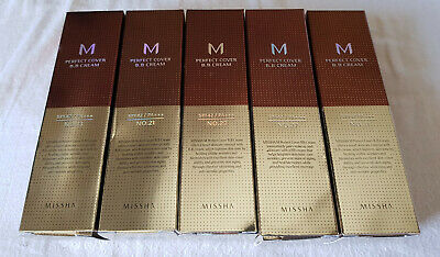 Missha M Perfect Cover BB Cream SPF42 PA+++ #13 #21 #23 #25 #27 #29 #31 ||| 3ml