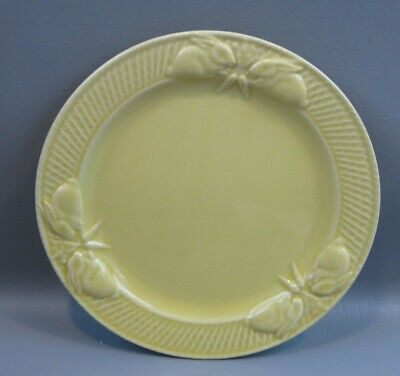 Bordallo Pinheiro Rabbit Yellow Salad Plate 8 3/8'' Made in Portugal