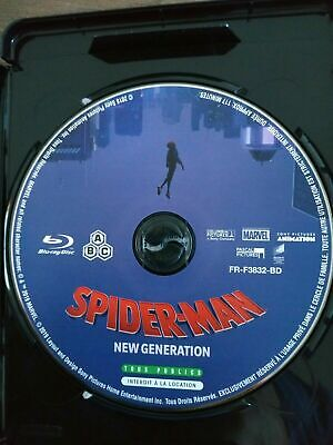 blu ray SEUL Spider-Man  New Generation
