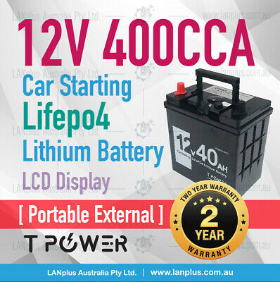 12V 8Ah LiFePO4 Lithium Rechargeable Battery w 12v1Ah Battery charger >12v 7ah