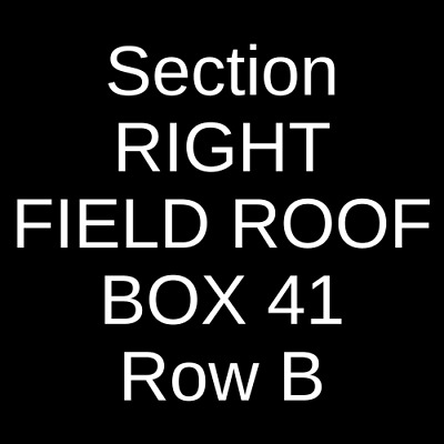3 Tickets Tampa Bay Rays @ Boston Red Sox 6/8/19 Fenway Park Boston, MA