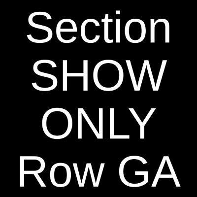 2 Tickets Death Cab For Cutie 6/21/19 Brewery Ommegang Cooperstown, NY