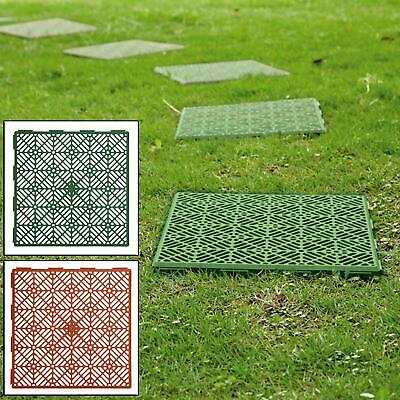 Interlocking Outdoor Garden Plastic Patio Path Walkway Floor Lawn Patio Tiles