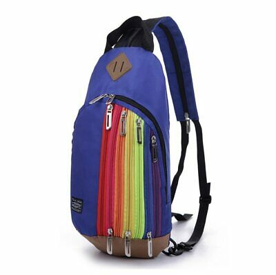 Waterproof Material Nylon Backpack Chest Packs Rucksack School Bag Women