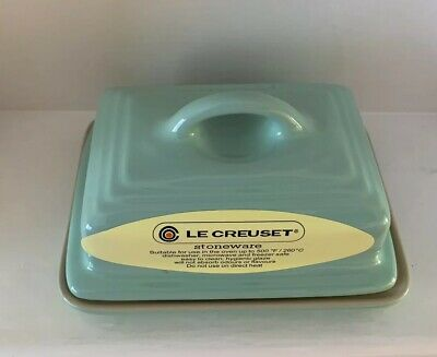 Le Creuset Butter Dish - Mint Green (NEW)