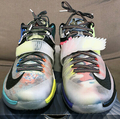 29f697beb1b4 Nike KD 7 VII SE What The Size 9.5 what the ext red global game bhm