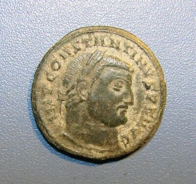 Ancient Antique Roman Coin. Bronze. Rarity. Original.