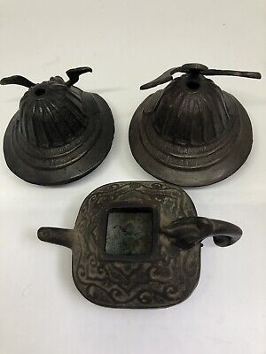 Vintage Asian Bronze Pieces
