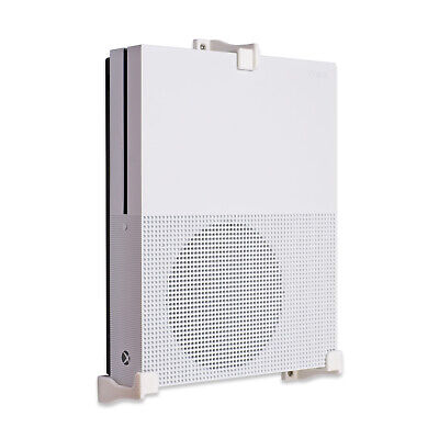 Wall Bracket for Xbox One S Game Console - White (3 Legs)