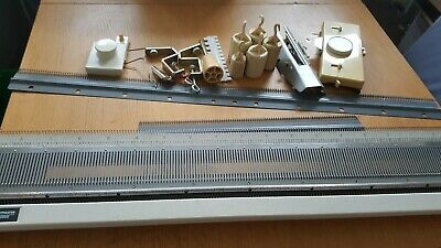 Empisal Knitmaster SRP60N Ribber Knitting Machine uncompleted.